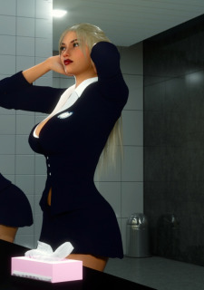 Erin and Vikki – Bathroom Break image 3