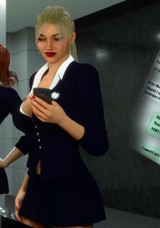 Erin and Vikki – Bathroom Break image 4