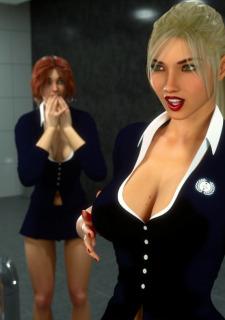 Erin and Vikki – Bathroom Break image 7