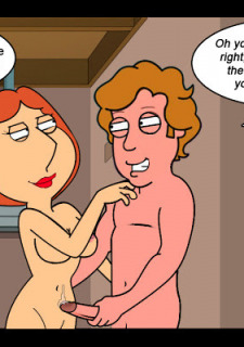 Family Guy Naughty Mrs. Griffin Ch.2 image 36