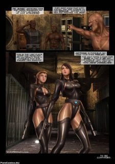 Agent Silver- Dofantasy porn comics 8 muses
