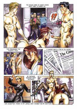 Flora's life- Bruno Coq porn comics 8 muses