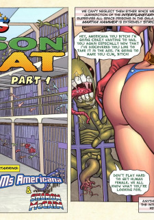 Freedom Stars in Prison Heat- Superheroine image 3