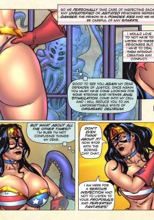 Freedom Stars in Prison Heat- Superheroine image 4