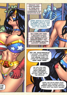 Freedom Stars in Prison Heat- Superheroine image 5