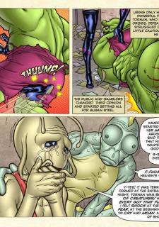 Freedom Stars in Prison Heat- Superheroine image 102