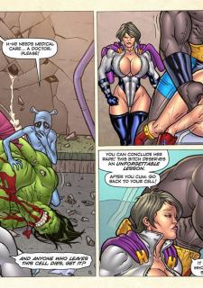 Freedom Stars in Prison Heat- Superheroine image 105