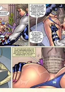 Freedom Stars in Prison Heat- Superheroine image 106