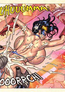 Freedom Stars in Prison Heat- Superheroine image 114
