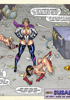 Freedom Stars in Prison Heat- Superheroine image 20