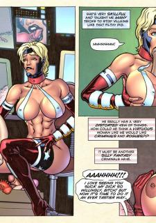 Freedom Stars in Prison Heat- Superheroine image 24