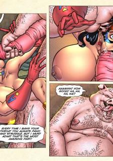 Freedom Stars in Prison Heat- Superheroine image 27