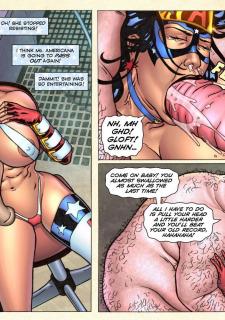 Freedom Stars in Prison Heat- Superheroine image 28