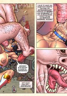 Freedom Stars in Prison Heat- Superheroine image 29