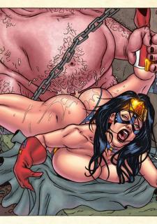 Freedom Stars in Prison Heat- Superheroine image 39