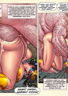Freedom Stars in Prison Heat- Superheroine image 40