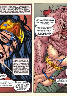 Freedom Stars in Prison Heat- Superheroine image 42