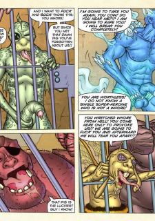 Freedom Stars in Prison Heat- Superheroine image 50
