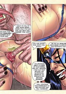 Freedom Stars in Prison Heat- Superheroine image 56