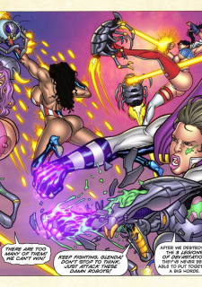 Freedom Stars in Prison Heat- Superheroine image 58