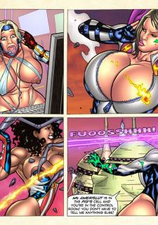 Freedom Stars in Prison Heat- Superheroine image 59