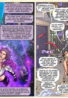 Freedom Stars in Prison Heat- Superheroine image 66