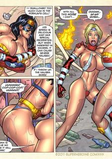 Freedom Stars in Prison Heat- Superheroine image 67