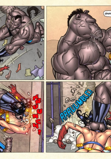 Freedom Stars in Prison Heat- Superheroine image 71
