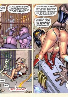 Freedom Stars in Prison Heat- Superheroine image 80