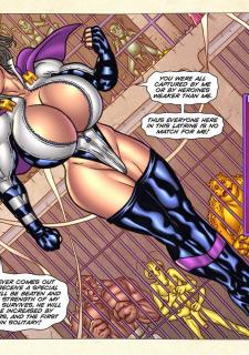Freedom Stars in Prison Heat- Superheroine image 84