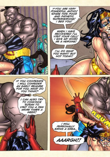 Freedom Stars in Prison Heat- Superheroine image 86