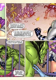 Freedom Stars in Prison Heat- Superheroine image 91