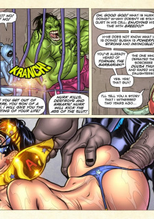 Freedom Stars in Prison Heat- Superheroine image 93