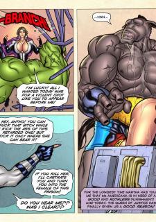 Freedom Stars in Prison Heat- Superheroine image 94