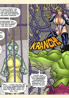 Freedom Stars in Prison Heat- Superheroine image 95