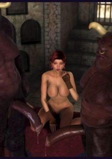 Frey and the Minotaur- Damn3d porn comics 8 muses