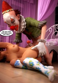 Fucked by Evil Clown- Tabo3dMovies image 16
