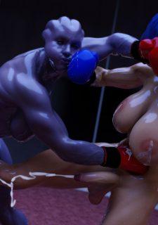 Futa Effect Heilla vs Melanie- Squarepeg3D image 17
