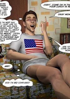 Gay 3D Comics-CumingOut image 03