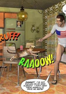 Gay 3D Comics-CumingOut image 07