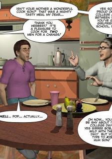 Gay 3D Comics-CumingOut image 26