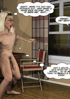 Gay 3D Comics-CumingOut image 40