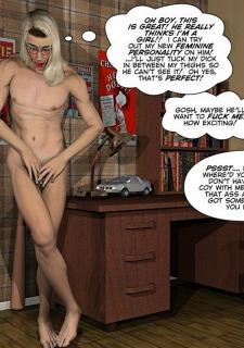 Gay 3D Comics-CumingOut image 41