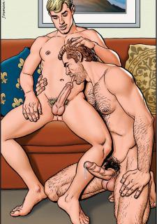 Gay Comics- The Match image 05