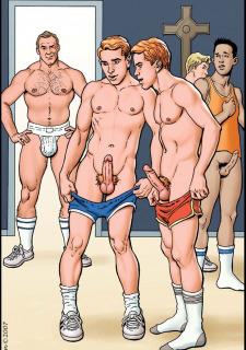 Gay Comics- The Match image 06