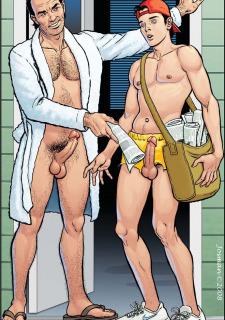Gay Comics- The Match image 08