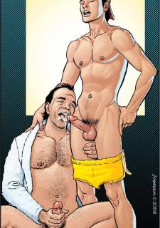 Gay Comics- The Match image 09