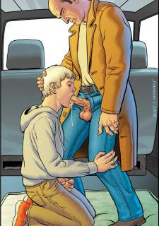 Gay Comics- The Match image 11