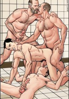 Gay Comics- The Match image 13