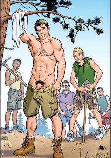 Gay Comics- The Match image 14